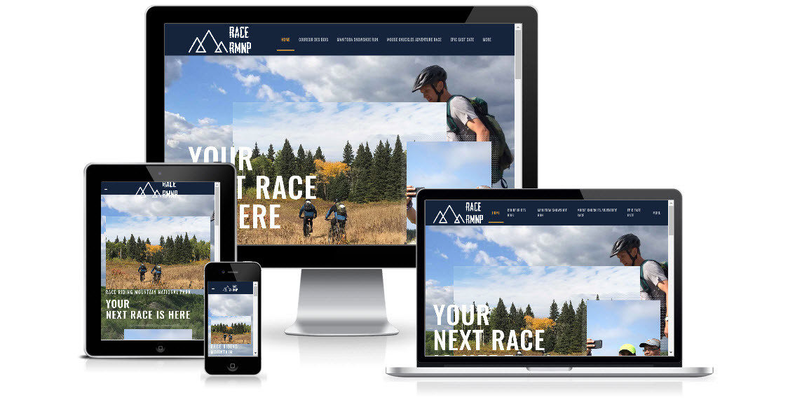 Race RMNP Website Redesign