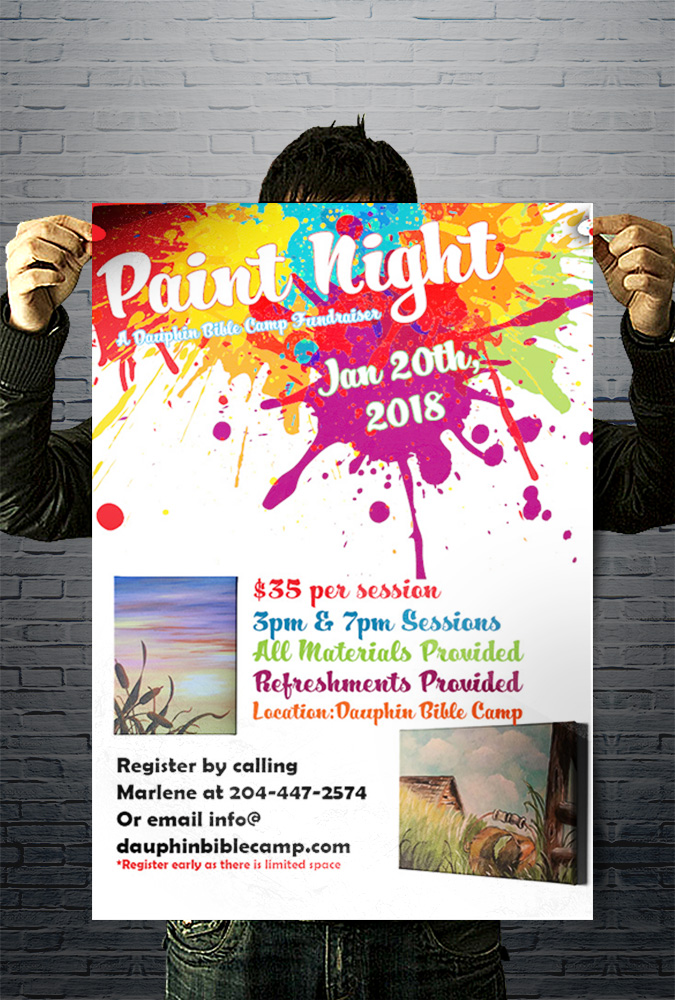DBC-paint-night-poster